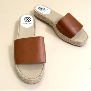 Christian Lacroix  Style Tan Sandals * like new